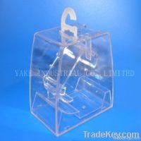 Hanging type plastic watch box