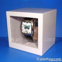White  Rectangular watch box