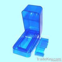 Blue Plastic Watch box