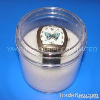 Circular Transparent watch packing box