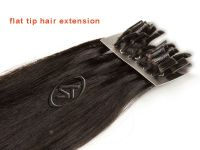 keratin/bonded human hair extensions