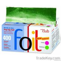 Pop-up aluminum foil