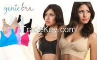 As Seen On TV Classical Color Pastel Sexy Pads Push Up Genie Bra Sports Bra