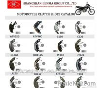 clutch shoe for motorcycle