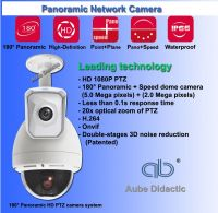 Panoramic IP CCTV Camera systems for Speed Dome with 1080P PTZ