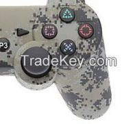 New Design Camouflage wireless game controller for PS3 Controller