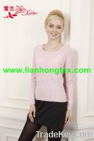 2013 high quality fashion pullover cashmere sweater for lady