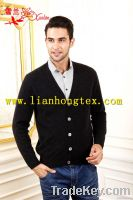 L-071 cardigan sweater for men