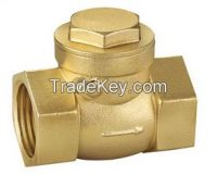 Manufuctury Supply Brass Check Valve With Brass Cartrige