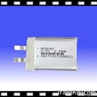 Rechargeable Lithium Polymer Battery for MID/MP3/MP4 3.7V 930mAh (803040)