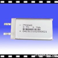 Rechargeable Li-Polymer Cell Battery for POS Terminal 3.7V 1000mAh (753048)