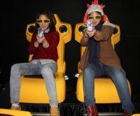 The latest cinema with guns 7D cinema