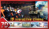 7D mini cinema with play shooting games