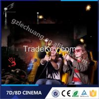 Hot Attractive Hydraulic/Electronic New Business Projects 7D Simulator System