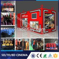 2015 Funny Games New Business Projects Mini 5D Cinema