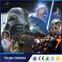 Guangzhou Lechuang Modern Amazing Children Funny Games 7D Simulator Manufacturer