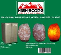 HIMALAYAN PINK CRYSTAL ROCK SALT LAMP NATURAL X-LARGE 12 INCHES HEIGHT