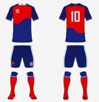 Soccer Ball Team Uniform Custom