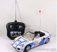 Plastic rc car toy