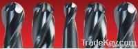 Solid Carbide Ball Nose End Mills, Extra Short