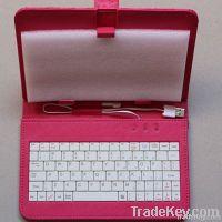 """7"""" Tablet cute pattern keyboard case"""