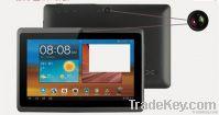 """7"""" tablet pc, 2 cameras"""