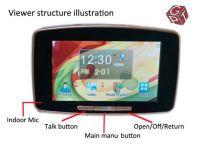 5 inch touch screen smart door viewer