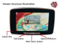 5 inch touch screen smart peephole viewer