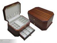 Latest design Elegant inner decoration jewelry box with metal lock