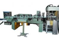 Radiator fin forming machine