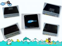 Mobile power bank with music speaker supply Micro SD card