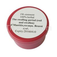 Mastitis,milk siltation, breast cyst among breast feeding women: FR ointment, 100% Chinese traditional medicine,100% CTM herbal