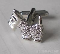 cheap crystals cufflink