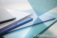 Polycarbonate solid sheet with uv protection for 10yrs warranty