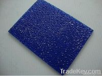 Ge lexan diamond polycarbonate embossed sheet UV protection