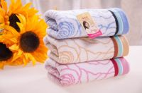 pure cotton towel at high quality factory direct bath towel