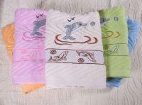 70*140cm bath towel 100% cotton factory direct