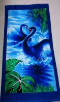 100% pure cotton beach towel factory direct sell with high quality