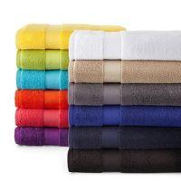 100% cotton hotel bath towel plain dyed