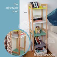 Flex adjustable shelf