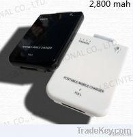 2800mAh external USB battery for iphone 4/4S