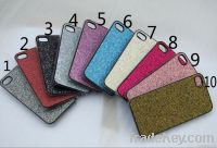 Glitter hard PC case cover for iphone 5