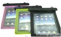 PVC material waterproof case bag for ipad/tablet