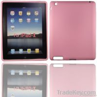 Pink silicone gel soft skin case cover For iPad 2 2G 2nd Gen