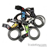 Polygon Spiral Bike Lock with Keys