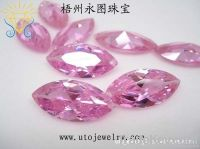 fancy shape synthetic CZ gems cubic zirconia