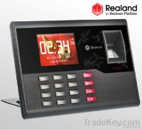 Fingerprint Time attendance TFT TCP/IP Time Recorder Clock System