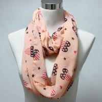 Wholesale Stars Printed Scarf,  Scarf supplier