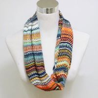 New Rainbow color Stole, Bright colorful Shawl