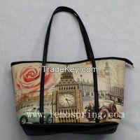 Classic printing shopping bag, Popular Handbag